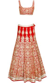 Brick red kundan and zari embroidered lehenga set available only at Pernia's Pop Up Shop..#perniaspopupshop #shopnow #newcollection #ethnic #jyotsanatiwari#happyshopping #clothing