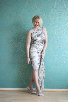 A fashion blog for women over 40 and mature women http://glamupyourlifestyle.blogspot.de/  Dress. Zara Shoes: Pura Lopez