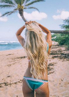 Beach bound. - bikini