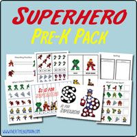 Totally Free Pre-k pack. Perfect for preschool!