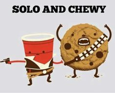 Omg when I was little I used to buy a solo and quote Han Solo