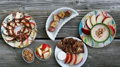 Betty blogger Haley Nelson shares her go-to ideas for turning a humble apple into an utterly irresistible snack.