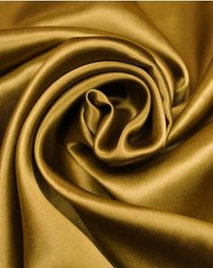 With an exquisitely smooth texture and gloss, silk satin has to be a classic choice for flowing draped designs. See all our silk satin fabrics to buy online here! Silk Satin Fabric, Silk Wallpaper, Color Meanings, Mood Fabrics, Gold Silk, Fabric Textures, African Wear, Pure Silk, Truro Fabrics
