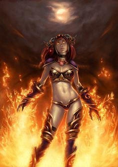 WOW Alexstrasza by gooloo0-o.deviantart.com on @deviantART