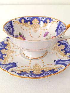 Vintage Royal Bayreuth Bavaria Germany Tea Cup by MariasFarmhouse