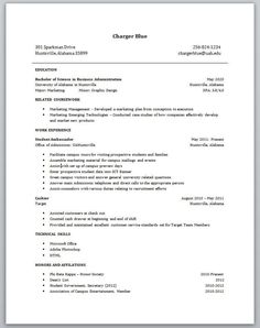 Resume For High School Student with No Work Experience - Resume For ...