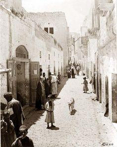 Bethlehem street 1880 - Belén - Wikipedia, la enciclopedia libre