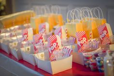 DIY concessions for an outdoor movie night party by A Girl In Transit