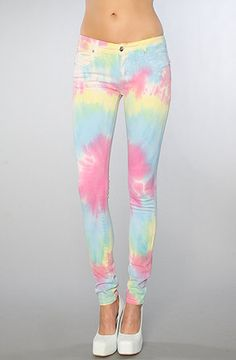 Tripp NYC The Rainbow Tie Dye Jean : Karmaloop.com - Global Concrete Culture