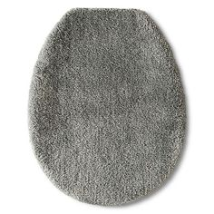 Fieldcrest® Luxury Toilet Seat Cover - Skyline Gray : Target