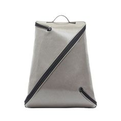 Z-Bag 3.0 Backpack--This stylish modern backpack features one-piece construction and a zipper that wraps around the top of the bag then runs diagonally to the bottom and wraps around the bottom. It is made from a light and durable plastic canvas. Available in gray and navy blue http://www.amazon.com/dp/B00JUIV63S/ref=cm_sw_r_pi_dp_ECiCtb0YFKNBGQX1