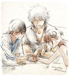 Ninja, Gintama Funny, Comedy Anime, Okikagu, Team 7, Cute Family, Attractive People, Light Novel, What Is Like