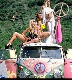 ☯☮ॐ American Hippie Bohemian Wanderlust Style ~ Boho VW Van Roadtrip ready!