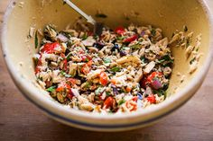 Can't wait to try this from Eatsy: Tuna Salad With Peppers, Olives and Herbs on Etsy