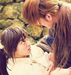 Kenshin & Kaoru Live Action #RurouniKenshin #RuroKen #KamiyaKaoru
