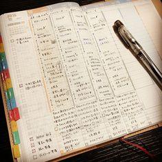 . 今週はプレピーで書いてます(・◡͐・)♥ 気分によってペンを変えるのもまたよしっ‼︎ . . #ジブン手帳 #手帳 #ライフログ #lifelog #万年筆 #プラチナ万年筆 #プレピー #preppy
