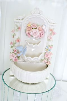 Suberto Fountain for the cake stand