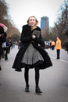 Franca Sozzani - Vogue Italia editor Ahh, that coat!!