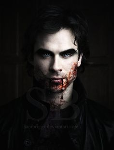 ✯ Ian Somerhalder Vampire .. By *SamBriggs*✯