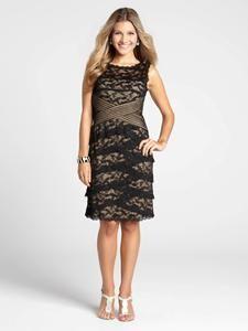 x waist tiered lace dress, laura petites  www.laura.ca