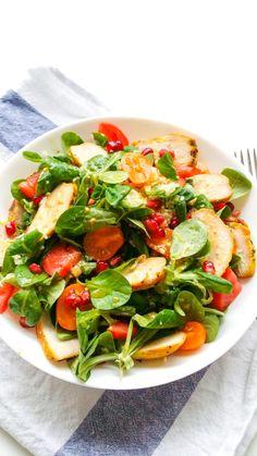 Healthy Salad Recipes, Healthy Snacks, Healthy Eating, Food Challenge, Big Meals, Food Inspiration, Appetizer Recipes, Good Food, Big Food