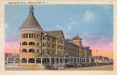 The Engleside Hotel, Beach Haven, Long Beach Island. Jersey Boys, New Jersey, Nj Shore, Beach Haven, Long Beach Island, Travel Usa, Old Photos, Vacations, Beautiful Places