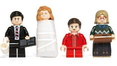 TWIN PEAKS Inspired Custom LEGO Mini Figures Are Just Too Dreamy