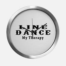 line_dance_my_therapy_modern_wall_clock.jpg 225×225 Pixel