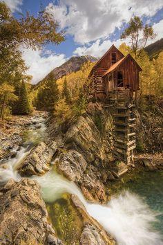 Crystal Mill Colorado US