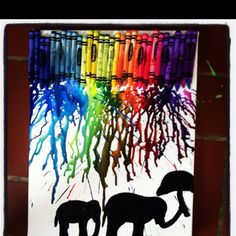 Crayon art by hilary