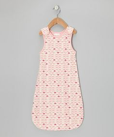 Take a look at this Pink & Light Coral Whale Reversible Sleeping Sack - Infant by tiptoe & whisper on #zulily today!