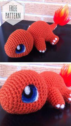 Mesmerizing Crochet an Amigurumi Rabbit Ideas. Lovely Crochet an Amigurumi Rabbit Ideas. Pokemon Crochet Pattern, Crochet Baby Blanket Free Pattern, Crochet Geek, Crochet Patterns Amigurumi, Cute Crochet, Crochet Crafts, Crochet Dolls, Knitting Patterns Free, Easy Crochet