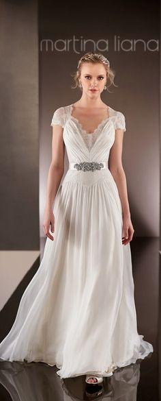 Preciosos Vestidos de Novia por Martina Liana - Primavera 2015 - Bodas