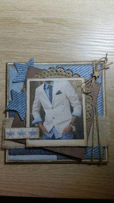 Scrapbook Cards, Scrapbooking, Graphic 45, Masculine Cards, Cardmaking, Birthdays, Denim, Boys, Creative