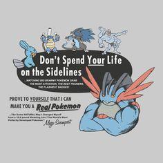 ====== Shirt for Sale ====== Get Buff Mega Swampert Pokemon tshirt by Kaiserin. ========================