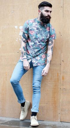 4a32ce3b Aloha Hawaiian Outfits And Shirts For Summer and Spring Break for Men  Fashion Men, Hipster