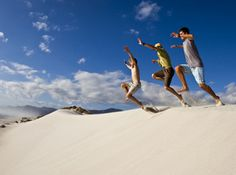 A Garden Route Road Trip - hitting the dunes at Stanford Fiji Honeymoon, Fire Pit Bbq, Seaside Village, Water Life, Paragliding, The Dunes, Whale Watching, Vacation Packages, Walking In Nature