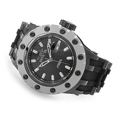 635-152 - Invicta 52mm Specialty Subaqua Automatic Stainless Steel Polyurethane Strap Watch