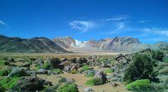 Volcanic landscape north of Putre in northern Chile [10621920] [OC] #reddit