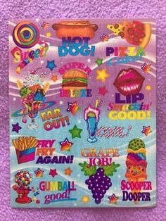 90-039-s-Vintage-Lisa-Frank-Teacher-Sticker-Sheet-S544