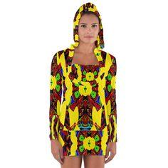 Uk,'+(3),ujjollymky+Women's+Long+Sleeve+Hooded+T-shirt