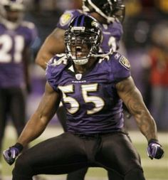 Terrell Suggs...with all the beautys, we need a beast. Keep sackin em, Suggs.