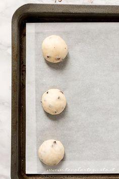 Pangoccioli in lievitazione - Ricetta Pangoccioli Croissant, Eggs, Bread, Cooking, Breakfast, Sottile, Sweet, Desserts, Food