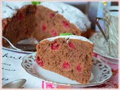 Domowa kuchnia Aniki: Murzynek z malinami Pudding, Cake, Food, Polish, Vitreous Enamel, Custard Pudding, Kuchen, Essen, Puddings