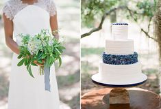 Summer Blueberry Wedding Inspiration in Savannah from Ashley Seawell Photography | Snippet & Ink Snippet & Ink