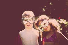Mask portrait   Seattle Child photographer » Stacie Youngblood Photography   Seattle Family Photographer