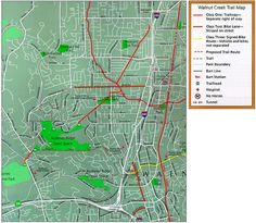 Walnut Creek Bike Maps - Check out the online maps that are available of the bike trails throughout Walnut Creek.