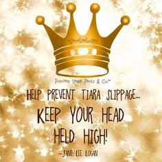 Keep Your Head Held High!