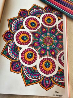 Sharpies or Tombow Brush Markers Can Make Your Mandala Doodle. Sharpies or Tombow Brush Markers Can Make Your Mandala Doodles Into ART! Mandalas Drawing, Easy Mandala Drawing, Madhubani Art, Madhubani Painting, Mandala Doodle, Doodle Art, Zen Doodle, Mandala On Wall, Drawing Tips