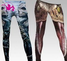 Leggings fra DragensHule. Om denne nettbutikken: http://nettbutikknytt.no/dragens-hule-no/